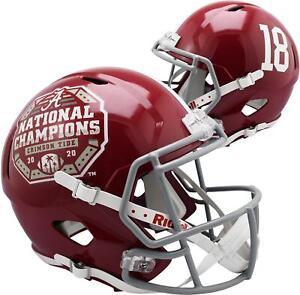 Riddell Alabama Crimson Tide CFP 2020 National Champions Logo Replica Helmet