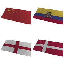 World Flags Wavy design Bath Towel ( Variation 2 ) - Large