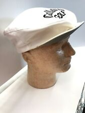 "Vintage White Callaway Golf Hat CABBIE Captain Cap ""Keep It Straight John"" RARE"