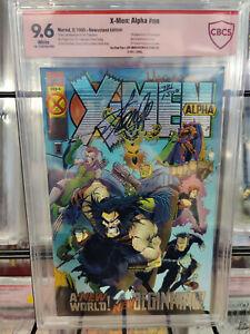 X-MEN: ALPHA #1A (1995) - CBCS GRADE 9.6 - SIGNED BY STAN LEE & JOE MADUREIRA!