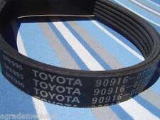 Genuine TOYOTA DRIVE BELT 90916-02296 FOR CAMRY CELICA RAV4 aka 5PK995 w/1yr Wty