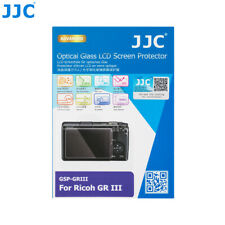 JJC 0.3mm Glass LCD Screen Guard Protector Film Cover for Ricoh GR III GRIII GR3