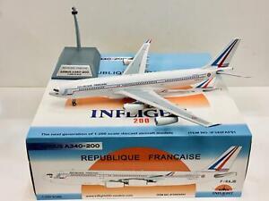 Inflight200 1:200 Republique Francaise AIRBUS A340-200 F-RAJB IF342FAF01