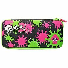 Splatoon 2 Nintendo Switch Carrying Case Hard Pouch Bag for Console System Japan