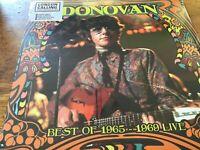 Donovan - Best of 1965-1969 Live Ltd Edition Coloured Vinyl 180grm Numbered NEW
