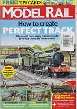 MODEL RAIL MAGAZINE #240 OCTOBER 2017, HOW TO CREATE PERFECT TRACK.