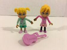 Fisher Price Alvin And The Chipmunks Groovin' Brittany & Eleanor Figures