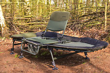 Fishing Camping Wide Bedchair & Bed Buddy Seat Combo, Carp, **SALE RRP £140**