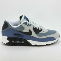 NIKE AIR MAX 90 GS SIZE UK 4 5 5.5 GIRLS WOMEN RUNNING TRAINERS SHOES GYM GREY