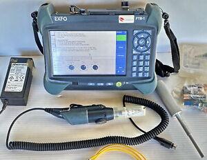 EXFO FTB-1-S1-8G + FTB-730 OTDR + FIP400P - FPSA AD IOLM OTDR 1310/1490/1550