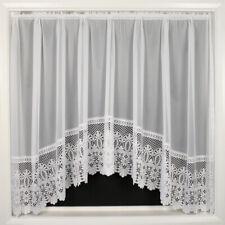 Brazil Jardiniere Plain Net Curtain With Heavy Lace Base 508 X 122cm