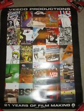"""Volcom Stone Veeco Productions Snowboarding Poster 24"""" X 18"""" 2-Sided Films"""