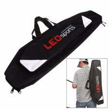 3 Layers 80cm Fishing Rod Pole Tackle Storage Bag Case Organizer Holder Black