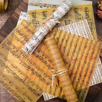 8 Pcs Background Paper Journal Diary Planner Scrapbooking Decorative DIY Craft