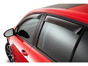 VW Volkswagen OEM Window Air Deflectors REAR 4dr 15-18 Golf 5G4072194HU3