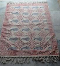 PERSIAN Kilim Rug Handwoven Cotton Indoor Outdoor Mat Area Rug Carpet Decor 2x3'