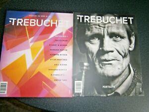 Trebuchet issues 7 & 9  Art & Culture Magazines  2020/2021