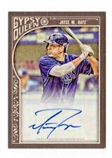MATT JOYCE MLB 2015 TOPPS GYPSY QUEEN AUTOGRAPHS (TAMPA BAY RAYS,ATHLETICS)