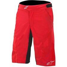 Red Men's Cycling Shorts