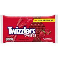 TWIZZLIERS STRAWBERRY TWIST CHEWY CANDY 16oz - PACK OF 3