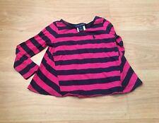 Ralph Lauren Girls Pink With Navy Stripes