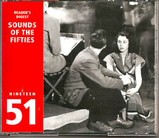 READERS DIGEST 3-CD SET ~ SOUNDS OF THE FIFTIES ~ 1951