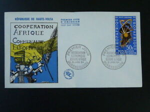 economic cooperation Europe Africa Europafrique FDC Upper Volta 1963
