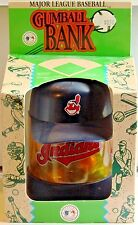 CLEVELAND INDIANS Major League Baseball Gumball Collector Bank Illinoy Toy 1994