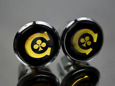 Colnago gold Plugs Caps Topes Tapones guidon bouchons lenker endkappe Tappi