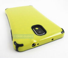 YELLOW BLACK PREMIUM TRUFFLE HARD GEL CASE COVER SAMSUNG GALAXY NOTE III 3