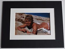 Brigitte Bardot Signed Autograph 10x8 photo display Hollywood Film Model COA