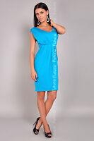 Women's Shift Dress V Neck Sleeveless Bubble Tunic Party Coctail Sizes 8-18 8437