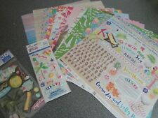 Paper House: Scrap booking kit - Paradise Found: Papers, stickers etc