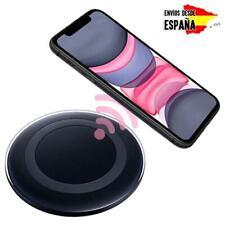 CARGADOR BASE DE CARGA INALAMBRICO QI NEGRO PARA IPHONE 8 / 8 PLUS / IPHONE X