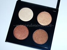 MAC Spring Forecast COLOUR 4 Eyeshadow Quad Palette~ Aztec Brick Creole Beauty