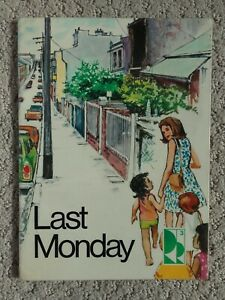 Last Monday by Gregory Blaxell & Gorgon Winch (Paperback, 1978) Reading Rigby