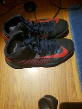 Nike Hyperdunk Mens basketball Size 10.5, Navy/Red, 2012, fairly Worn