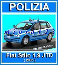 1/43 - POLIZIA : FIAT STILO 1.9 JTD - 2005 - Die-cast