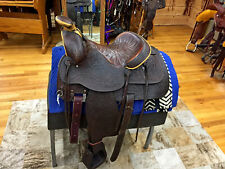 """New listing 16"""" BIG HORN WESTERN ROPING SADDLE"""