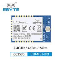 E18-MS1-IPX 2.4GHz CC2530 2.4GHz SOC 4dBm Low Power Zigbee RF Wireless Module