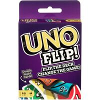 UNO Flip Card Game Brand new sealed package Mattel Games flip the deck -Original