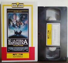 VHS FILM Ita Fantastico LA STORIA FANTASTICA peter falk vivivideo no dvd(VHS19)