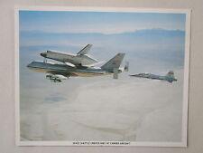 DOCUMENT NASA ESPACE SPACE SHUTTLE ORBITER BOEING 747 RECTO/VERSO