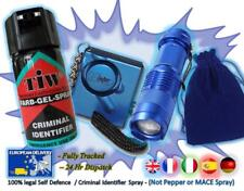 FARBGEL + Attack Alarm + CREE Torch + Carry Pouch = (The BLUE CREE Defence Pack)