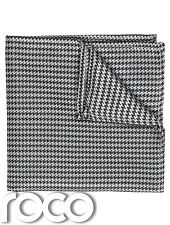 Houndstooth Hanky, Black And White Handkerchief, Boys Accessories, Hanky