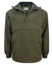 Hoggs of Fife Struther W/P Smock Field Jacket Dark Green  (STRU-GR)