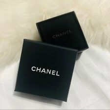 Chanel Earrings Jewelry Box with Velvet Storage Dust Bag Pouch