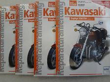 Reparaturanleitung KAWASAKI Zephyr 550 und 750, ab 1990, ZR550, ZR750, Band 5169