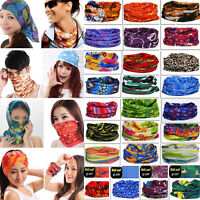 60 Color U Pick Magic Head Face Mask Snood Neck Outdoor Warmer Wrap Shawl Scarf