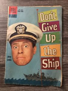 """Rare Dell Magazine """"Don't Give up the SHIP"""" Jerry Lewis NO 1049 1959 HAL Wallis"""